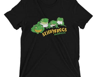 Stickyfrogs Black Frog T-shirt