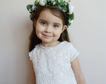 Wedding flower crown   Etsy