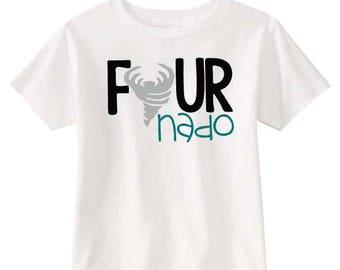 Fournado Fourth Birthday- Shirt