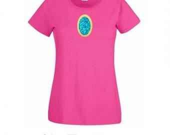 Adult Princess Peach Inspired Shirt- Ladies Size - Marios Bros - Nintendo Character