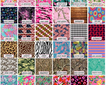 Patterned Heat Transfer Vinyl 12 x 12 Inch Craft HTV, Lilly HTV, Paisley HTV, shirt vinyl, patterned htv