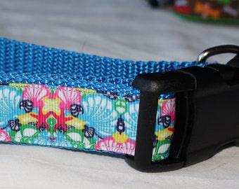 """Under the Sea Dog Collar - Side Release Buckle (1"""" Width)"""