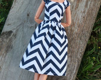 Barbie Clothes, Barbie Dress, 11.5 inch doll clothes