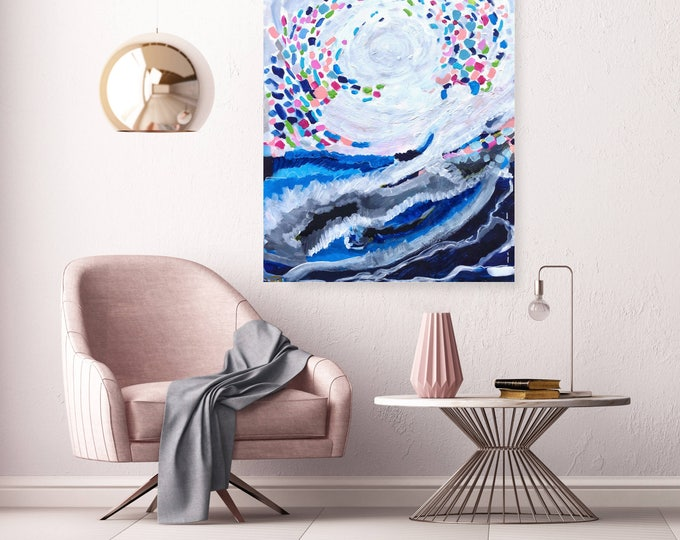 Eye of The Storm -30 in x 24 in