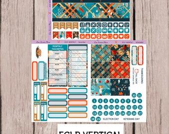 NOVEMBER Monthly Planner Sticker Kit perfect for Erin Condren Life Planner