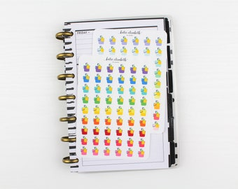Mini Cleaning Supplies || Planner Stickers