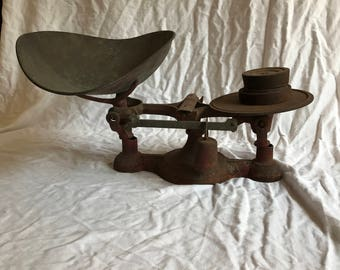 Gorgeous Large Vintage Fairbanks Scale