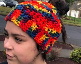 Made-to-Order Messy Bun Hat