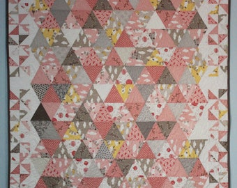 Triangles and Pinwheels quilt