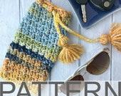 Sunglasses Case Pattern | Sunglasses Pouch | Sea Glass Sunglasses Pouch | Crochet Pattern