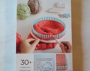Weaving loom etsy for Martha stewart crafts knit weave loom kit