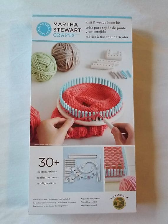 Martha stewart crafts knit and weave loom kit brand new for Martha stewart crafts knit weave loom kit