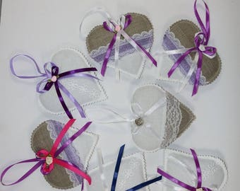 Lavender Hearts-Limburg Collection