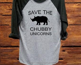 save the chubby unicorns, women shirt, women top, black grey shirt, funny t shirt, unisex shirt, tee, fashion shirt, unicorns
