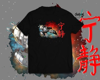 Leaf on the wind- firefly t shirt serenity tee sci fi shirt