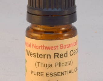Western Red Cedar Essential Oil 5 ml. – Red Cedar Oil – Thuja plicata