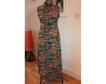 1970's Handmade Maxi Dress