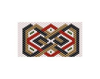 Woven G2 Pen Wrap Peyote Stitch Pattern