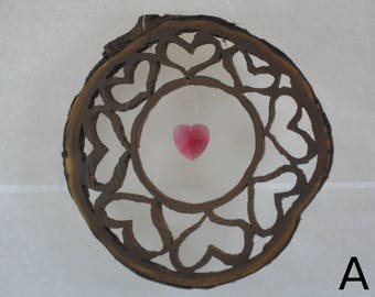 Forest Heart  window decoration
