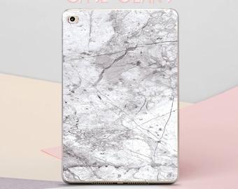 Gray Marble Clear Case New iPad 5 Case Marble iPad Sleeve 9.7 iPad Pro 12.9 Case iPad 4 Mini Case Marble Hard iPad Case 9.7 iPad Mini CG6005