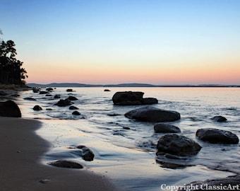 Sunset Photo, Beach Sunset, Sunset Photography, Sunset Print
