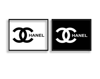 photograph relating to Printable Chanel Logo titled coco chanel emblem printables