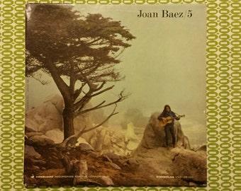 "Joan Baez - 5 - 12"" LP"