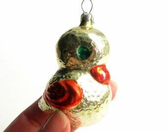 Christmas tree ornament Christmas tree decoration Christmas ornament Bird ornament 1950s christmas decorations Christmas decoration