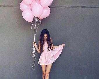 Pink Balloon Set | Blush Party Balloons | Pink Event Balloons | Blush Party Theme Balloons | Pink Decoration | Set of 6