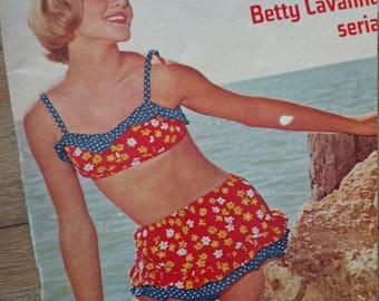 1967 American Girl magazine - mod music, movies, fashion