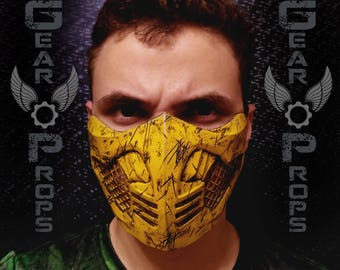 Scorpion Mask from Mortal Kombat X