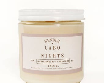 Cabo Nights, Soy Candle, Gifts under 30, Phthalate Free, Gifts for her