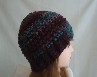 Beanie, Winter Beanie, Burgundy Beanie, Burgundy Winter Beanie, Burgundy Hat, Winter Hat, Burgundy Winter Hat, Womens Winter Hat