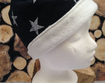 Cap Gr. 57 dark blue with white stars