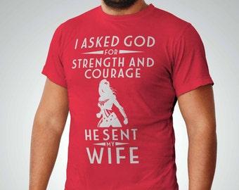 Christian Men's Shirt   Pastor Gift   Gift For Godson   Father's Day Gift   Wonder Woman   Wonder Woman Shirt   Wonder Woman T-shirt