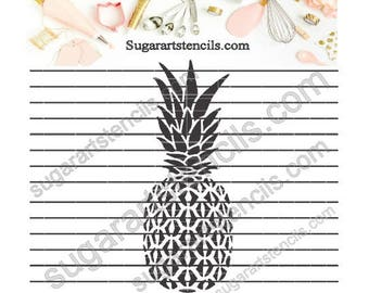 Pineapple cookie Stencil NB1245