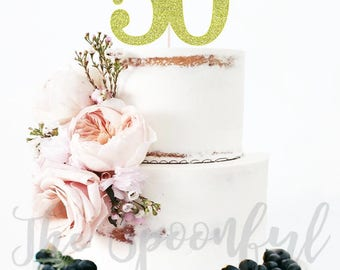 50th Birthday CakeTopper, Glitter Cake Topper, 50th Cake Topper, Cake Topper, Birthday Cake Topper, 50th Birthday, 50 and Fabulous