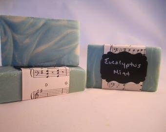 Eucalyptus Mint Goat Milk Soap