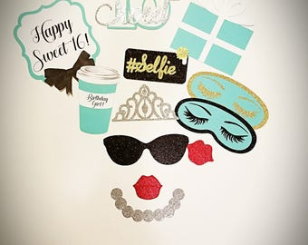 Sweet 16 Photo Booth Props