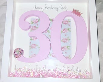 Special Birthday milestone frames 1st 16th 18th 21st 30th 40th 50th 60th 70th etc