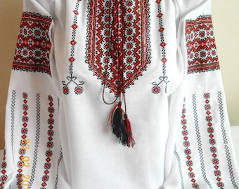 Ukrainian blouse vyshyvanka/Vyshyvanka/Peasant blouse/Vita - Style/embroidered shirt/boho blouse/Ukrainian clothing/women's clothing