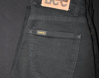 Lee Pants Black Vintage High-Waisted Size 27/31