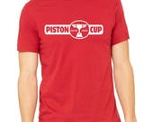 Disney Cars Shirt Lightning Mcqueen Shirt Piston Cup Shirt Disneyland Shirt Disney World Shirt Magic Kingdom Shirt Cars Land Shirt