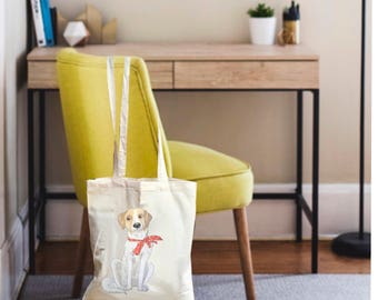 Dog bag, dog tote, canvas tote bag, dog tote bag, tote bag canvas, tote canvas, reusable grocery bag, reusable bag, canvas bags for woman