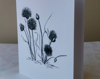 Greeting card black and white/card good recovery/Encouragement / card congratulations/drawing/frame-NBC-FL-DRR-0003