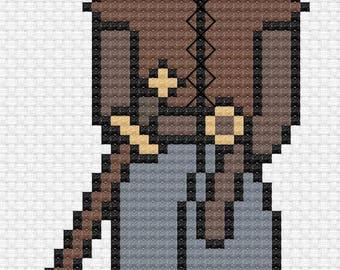 Arya Stark - Game of Thrones Cross Stitch Pattern