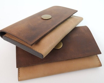 Wallet leather wallet purse Handmade Leather purse
