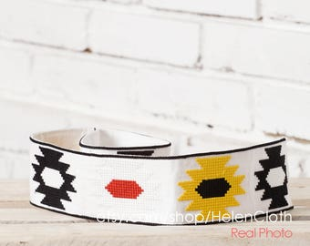 Vyshyvanka embroidered belt. Mexican style embroidery, Belt for dress, Waisted belt, wide belt, Free Shipping Boho style