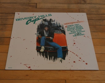 Music From The Motion Picture Soundtrack Beverly Hills Cop LP Vinyl Record