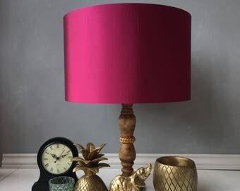 silk 40cm drum lampshade drum lampshade lighting housewares lampshade handmade